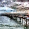 Llandudno Pier by Karen Ann Jones