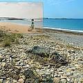 Lloyd's Bathing Beach At Sakonnet Point In Little Compton Ri by Jeff Hayden