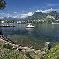 Lugano By Lago Di Lugano by Radka Linkova