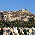 Lycabettus Hill During Sunset by George Atsametakis