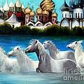 Magical Horses by Pilar  Martinez-Byrne