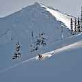 Man Skiing, Valhalla Mountain Touring by Whit Richardson
