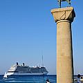 Mandraki Port by George Atsametakis