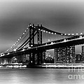 Manhattan Bridge New York City by Terri Morris