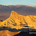 Manly Beacon Zabrinskie Point Death Valley National Park by Fred Stearns