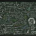 Maths Formula On Chalkboard by Setsiri Silapasuwanchai