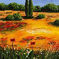 Mediterranean Landscape by Voros Edit