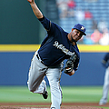 Milwaukee Brewers V Atlanta Braves by Kevin C. Cox