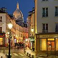Montmartre Twilight by Brian Jannsen