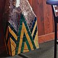 Mosaic Pillar by Charles Lucas
