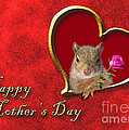 Mother's Day Squirrel by Jeanette K