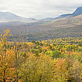 Mountains In Fall Mount Blue State Park Weld Maine by Keith Webber Jr