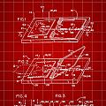 Mouse Trap Patent - Red by Stephen Younts