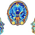 Mri Scans Of Normal Brains by Alfred Pasieka/science Photo Library