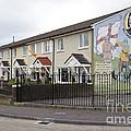Mural In Shankill, Belfast, Ireland by John Shaw