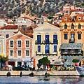 Mytilini Port by George Atsametakis