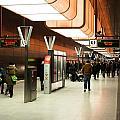New Hafencity Station In Hamburg by Frank Gaertner