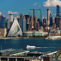 New York City Skyline As Seen by Panoramic Images
