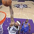 New York Knicks V Sacramento Kings by Rocky Widner