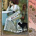 Old French And German Postcards From The Begining Of The 1900 by Jean Schweitzer