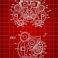Optical Refractor Patent 1985 - Red by Stephen Younts