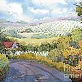 Out Santa Rosa Creek Road by Joyce Hicks