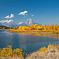 Oxbow Bend Grand Teton National Park by Fred Stearns