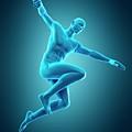 Person Jumping by Sebastian Kaulitzki/science Photo Library