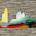 Philadelphia Skyline by Marvin Blaine