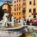 Piazza Navona In Rome by George Atsametakis