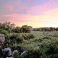 Pipestone Monument Sunset by Kevin Thomas
