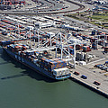 Port Of Oakland, Oakland by Dave Cleaveland