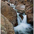 Poudre River Falls Fort Collins by Posters of Colorado