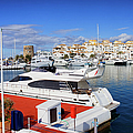 Puerto Banus Marina In Spain by Artur Bogacki