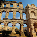 Pula, Istria County, Croatia. The Roman by Panoramic Images