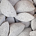 Pumice Lava Rocks by Roberto Morgenthaler