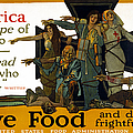 Red Cross Poster, 1917 by Granger