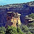 Rim Rock Colorado by Randy J Heath