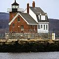 Rockland Breakwater Lighthouse by Skip Willits
