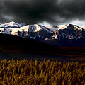 Rocky Mountains In Winter by Mark Duffy