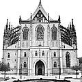 Saint Barbara Church  by Michal Boubin