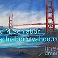 San Francisco Golden Gate Bridge by Eric  Schiabor