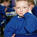 Schoolboy by Martin Riedl/science Photo Library