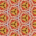 Seamlessly Tiled Kaleidoscopic Mosaic Pattern by Stephan Pietzko