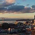 Seattle Dusk by Mike Reid