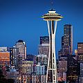 Seattle Skyline by Brian Jannsen