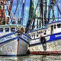 Shrimp Boats Season by Dale Powell