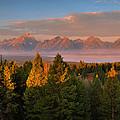 Signal Mountain Sunrise by Stephen  Vecchiotti