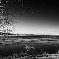 south Saskatchewan river near saskatoon Canada by Joe Fox