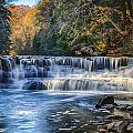 Squaw Rock - Chagrin River Falls by Jack R Perry